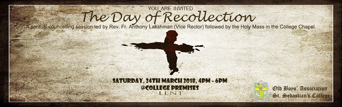 The Day of Recollection '18