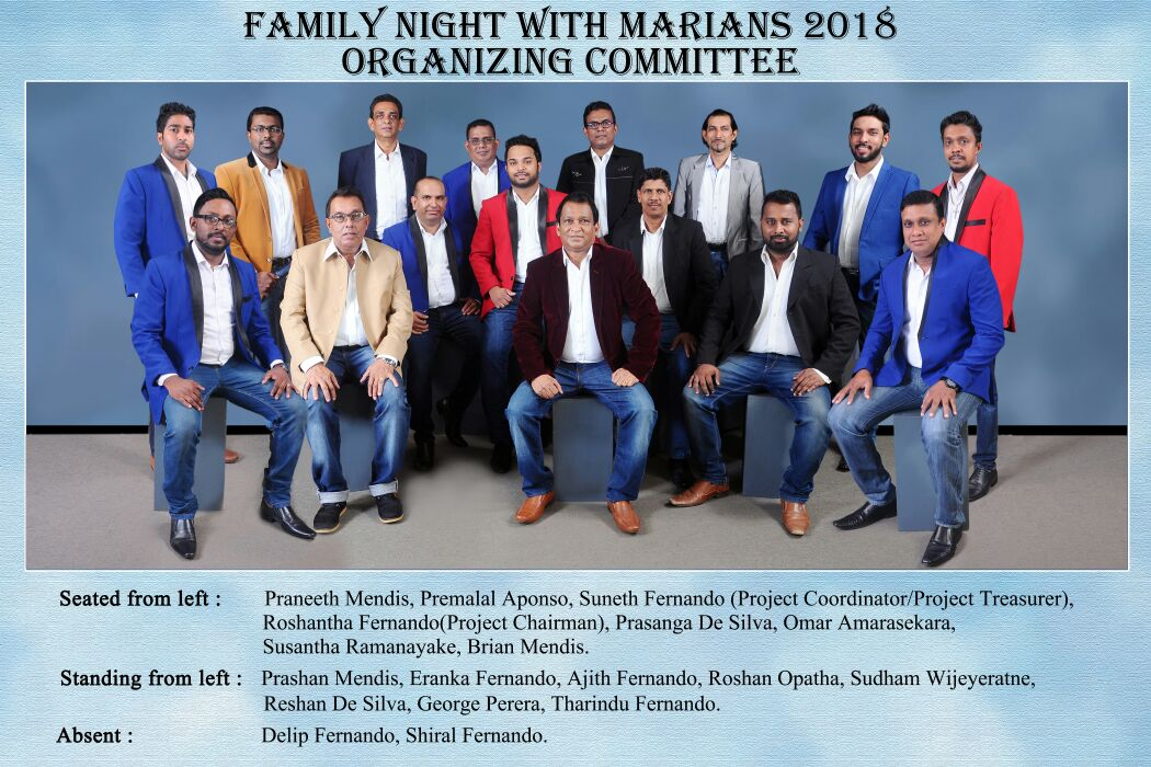 FN with Marians Organizing Committee