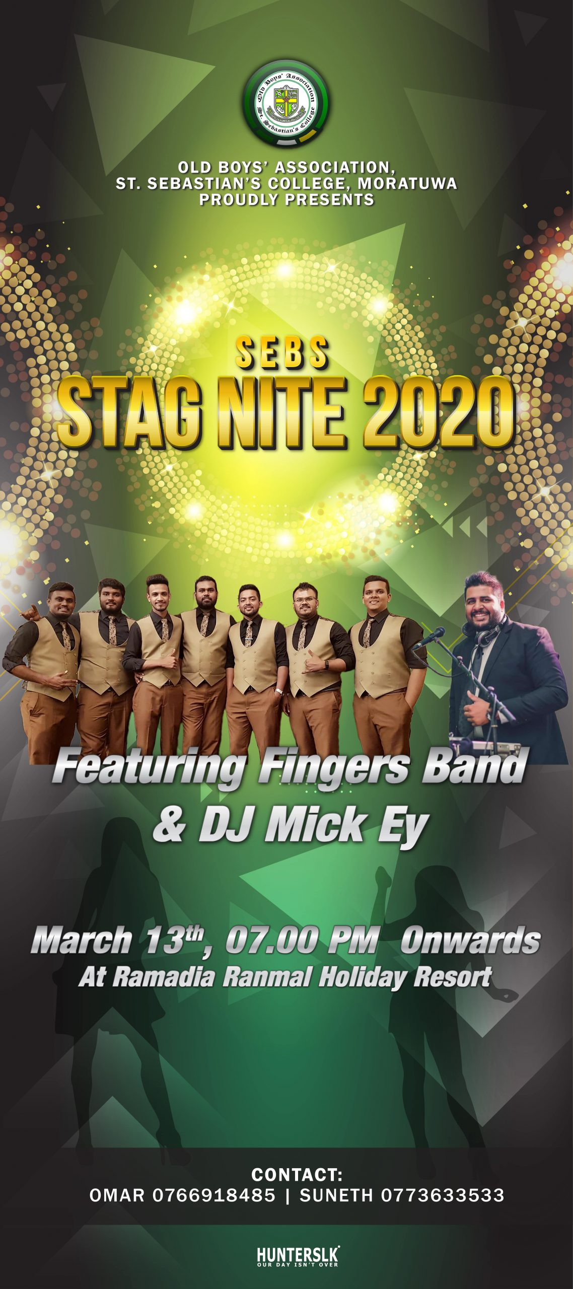 StagNight 2020 X-Banner